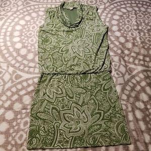 Michael Kors Sleeveless Green Dress Size S